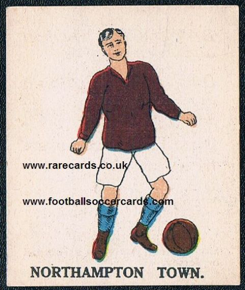 1923 Northampton Town Battocks type 1